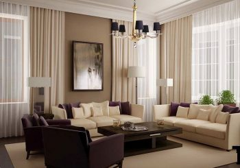 10+ Beautiful Living Room Curtain Design To Look More Luxury