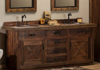 14 Impressive Rustic Bathroom Vanity Ideas For Those Who Love Beauty