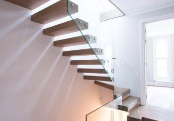 15 Edgy Floating Staircase Design Ideas